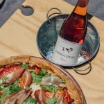 Louise's Margherita pizza